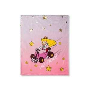 Mario Kart Princess Peach Racer Throw